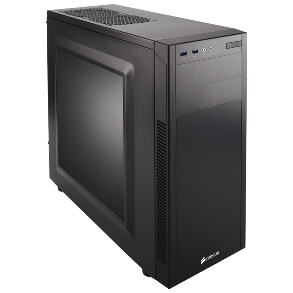 A large main feature product image of Corsair Carbide 100R Mid Tower Case w/Side Panel Window