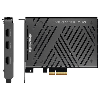 Product image of AVerMedia GC570D Live Gamer Duo HDR Capture Card - Click for product page of AVerMedia GC570D Live Gamer Duo HDR Capture Card