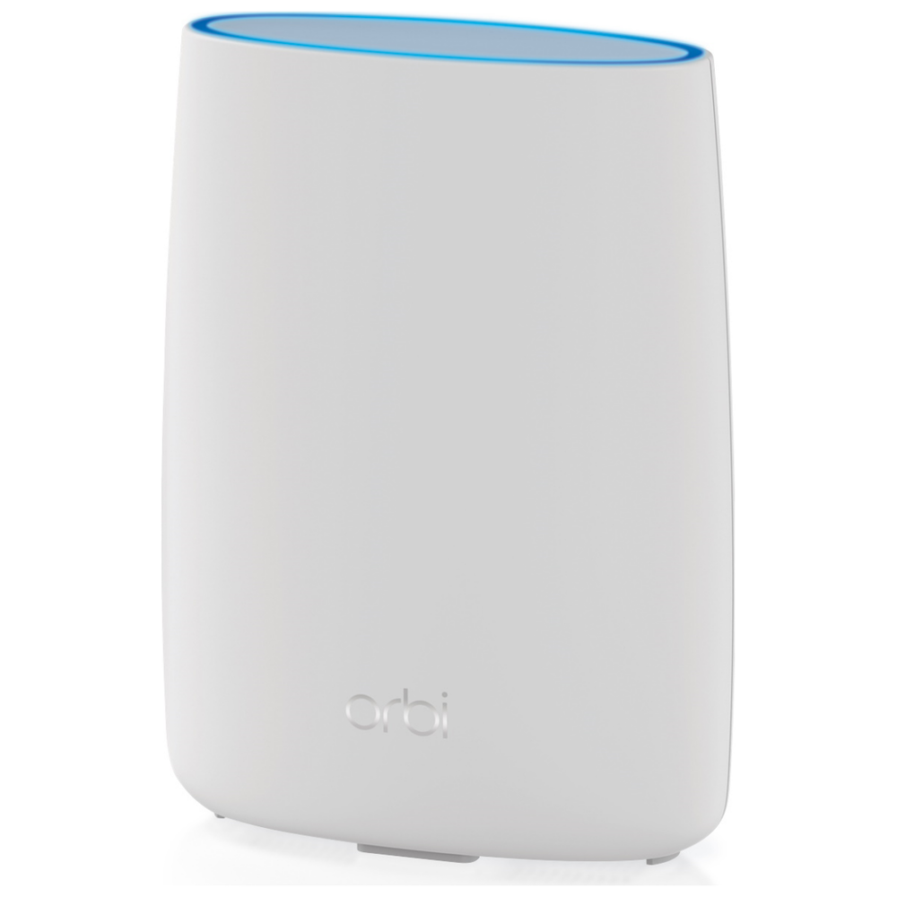 A large main feature product image of Netgear Orbi 4G LTE Advanced Tri-band Router