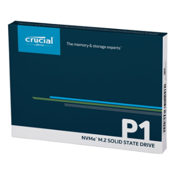 Product image of Crucial P1 500GB NVMe 3D NAND M.2 SSD - Click for product page of Crucial P1 500GB NVMe 3D NAND M.2 SSD