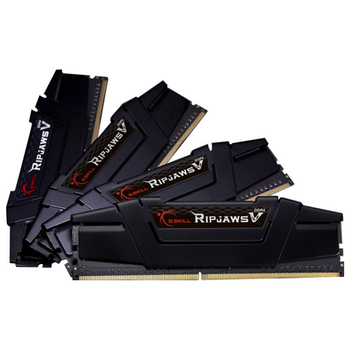 Product image of G.Skill 128GB Kit (4x32GB) DDR4 Ripjaws V C16 3200Mhz - Click for product page of G.Skill 128GB Kit (4x32GB) DDR4 Ripjaws V C16 3200Mhz