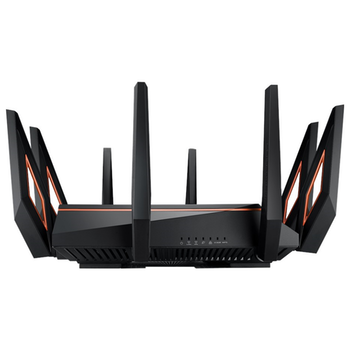 Product image of ASUS ROG Rapture GT-AX11000 802.11ax Tri-Band WiFi 6 10GigE Gaming Router - Click for product page of ASUS ROG Rapture GT-AX11000 802.11ax Tri-Band WiFi 6 10GigE Gaming Router