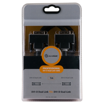 Product image of EX-DEMO ALOGIC DVI-D Dual Link 1m Digital Video Cable - Click for product page of EX-DEMO ALOGIC DVI-D Dual Link 1m Digital Video Cable