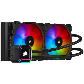 Product image of Corsair iCUE H115i Elite Capellix 280mm AIO Liquid CPU Cooler - Click for product page of Corsair iCUE H115i Elite Capellix 280mm AIO Liquid CPU Cooler