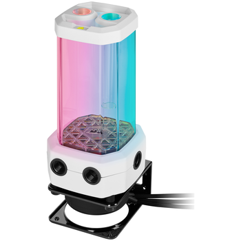Product image of Corsair Hydro X Series XD5 RGB Pump/Reservoir Combo V2 - White - Click for product page of Corsair Hydro X Series XD5 RGB Pump/Reservoir Combo V2 - White