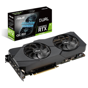 Product image of EX-DEMO ASUS GeForce RTX2080 Super Dual OC 8GB GDDR6 - Click for product page of EX-DEMO ASUS GeForce RTX2080 Super Dual OC 8GB GDDR6