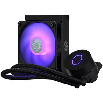 Product image of Cooler Master MasterLiquid ML120L RGB AIO Liquid Cooler V2 - Click for product page of Cooler Master MasterLiquid ML120L RGB AIO Liquid Cooler V2