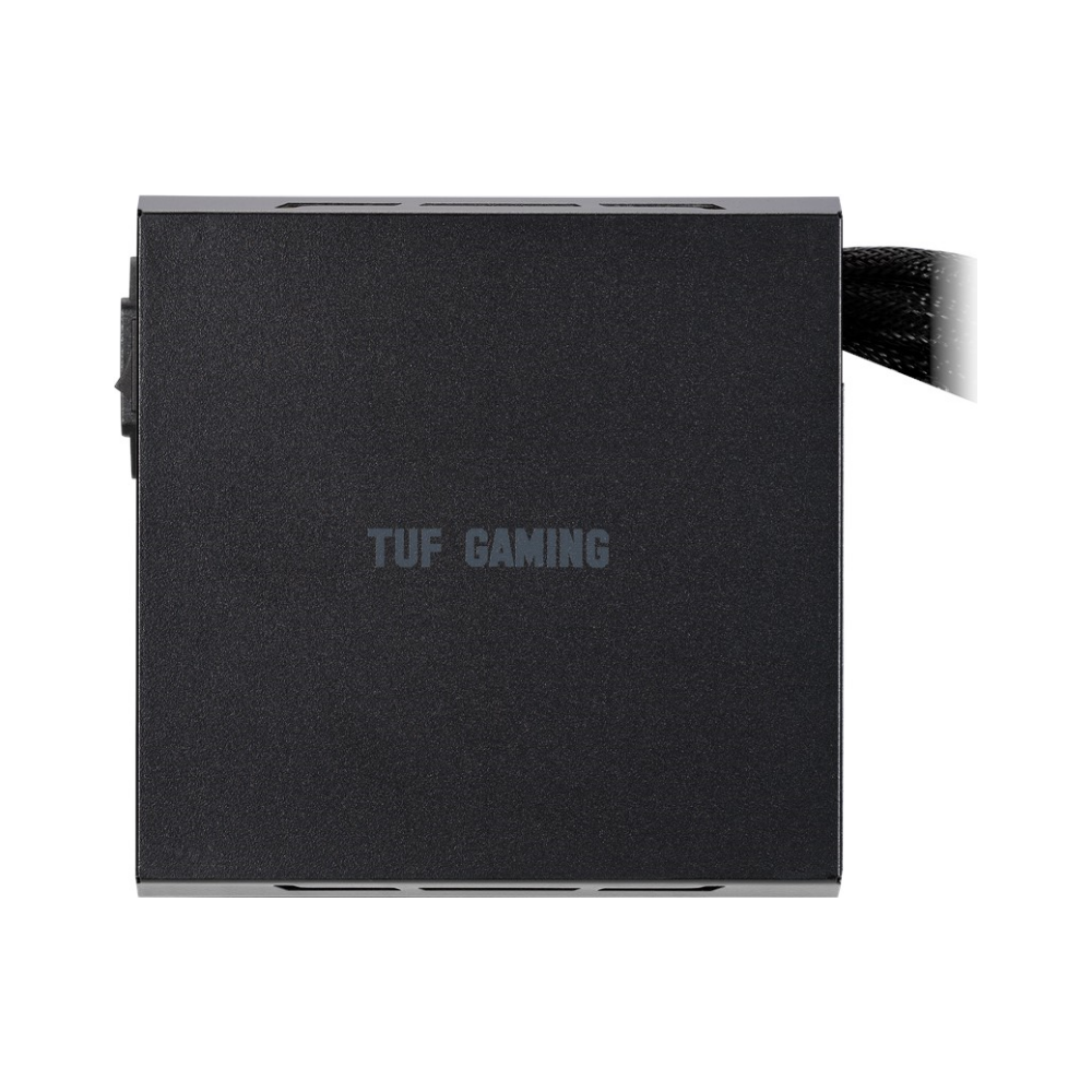 A large main feature product image of ASUS TUF-Gaming 550W 80PLUS Bronze Power Supply