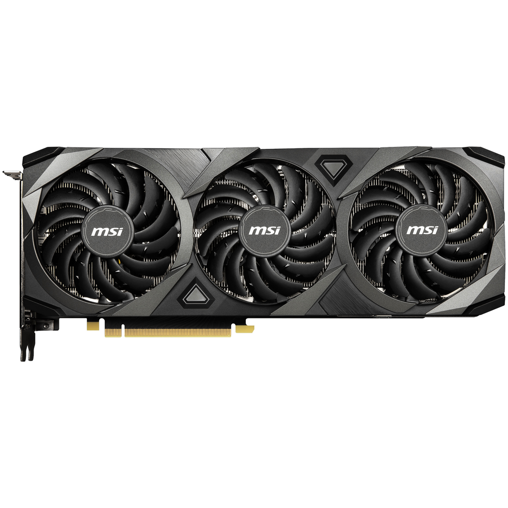A large main feature product image of MSI GeForce RTX 3080 VENTUS 3X OC 10GB GDDR6X