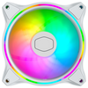 A product image of Cooler Master MasterFan MF120 Halo RGB 120mm Fan White Edition
