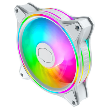 Product image of Cooler Master MasterFan MF120 Halo RGB 120mm Fan White Edition - Click for product page of Cooler Master MasterFan MF120 Halo RGB 120mm Fan White Edition