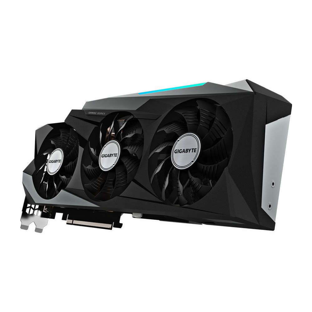A large main feature product image of Gigabyte GeForce RTX 3080 Gaming OC 10GB GDDR6X