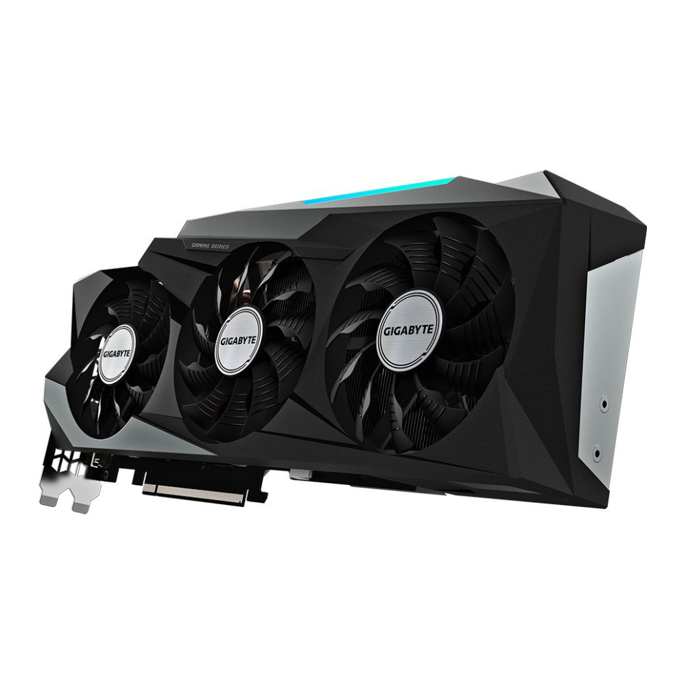 A large main feature product image of Gigabyte GeForce RTX 3090 Gaming OC 24GB GDDR6X