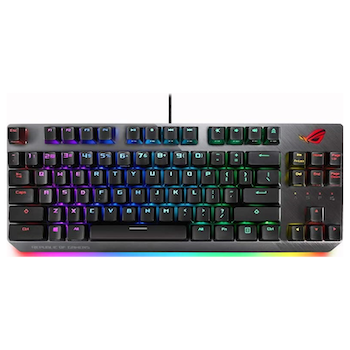 Product image of ASUS ROG Strix Scope TKL RGB Mechanical Gaming Keyboard (MX Red) - Click for product page of ASUS ROG Strix Scope TKL RGB Mechanical Gaming Keyboard (MX Red)