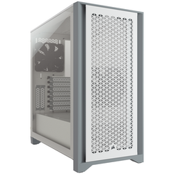 Product image of Corsair 4000D Airflow White Case w/ Tempered Glass Side Panel - Click for product page of Corsair 4000D Airflow White Case w/ Tempered Glass Side Panel
