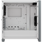 A small tile product image of Corsair 4000D Airflow White Case w/ Tempered Glass Side Panel