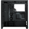 A small tile product image of Corsair iCue 4000X RGB Black Case w/ Tempered Glass Side Panel