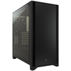 A product image of Corsair 4000D Black Case w/ Tempered Glass Side Planel