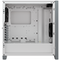 A small tile product image of Corsair 4000D White Case w/ Tempered Glass Side Planel