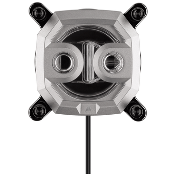 Product image of Corsair Hydro X Series XC7 RGB (1200/AM4) CPU Waterblock - Silver - Click for product page of Corsair Hydro X Series XC7 RGB (1200/AM4) CPU Waterblock - Silver