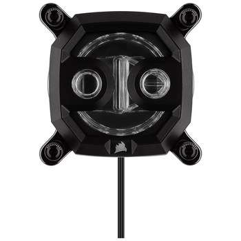 Product image of Corsair Hydro X Series XC9 RGB (2066/sTR4) CPU Waterblock - Black - Click for product page of Corsair Hydro X Series XC9 RGB (2066/sTR4) CPU Waterblock - Black