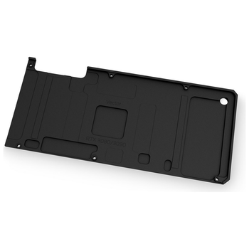 Product image of EK Quantum Vector RTX 3080/3090 Backplate - Black - Click for product page of EK Quantum Vector RTX 3080/3090 Backplate - Black