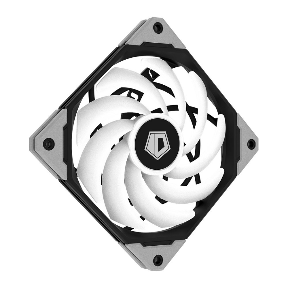 A large main feature product image of ID-COOLING 12015-XT Addressable RGB PWM 120mm Case Fan