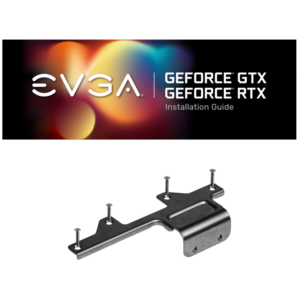 A large main feature product image of eVGA GeForce RTX 3080 XC3 Ultra Gaming 10GB GDDR6X