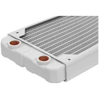 Product image of Corsair Hydro X Series XR5 White 240mm Radiator - Click for product page of Corsair Hydro X Series XR5 White 240mm Radiator