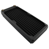 A product image of XSPC EX240 Dual Fan 240mm Radiator
