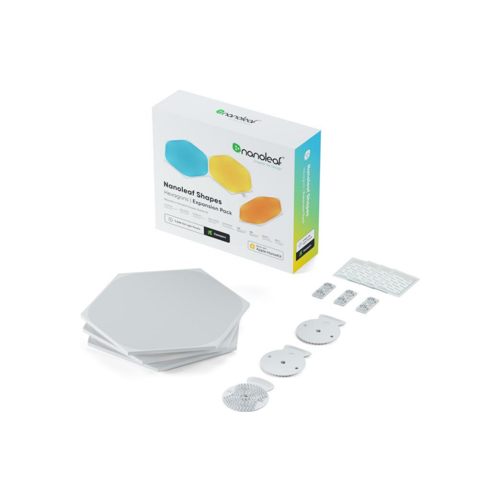 A large main feature product image of NANOLEAF Shapes Hexagon Expansion (3 Pack)