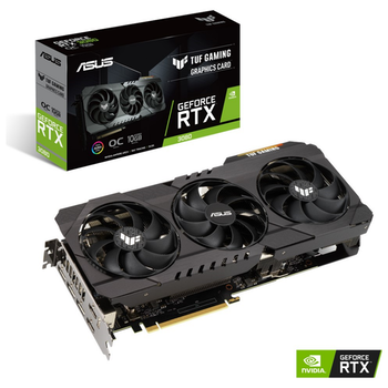 Product image of ASUS GeForce RTX 3080 TUF Gaming OC 10GB GDDR6X - Click for product page of ASUS GeForce RTX 3080 TUF Gaming OC 10GB GDDR6X