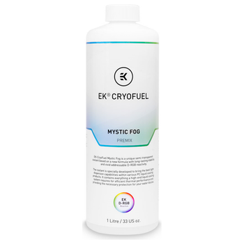 Product image of EK CryoFuel Mystic Fog 1L Premix Coolant - Click for product page of EK CryoFuel Mystic Fog 1L Premix Coolant