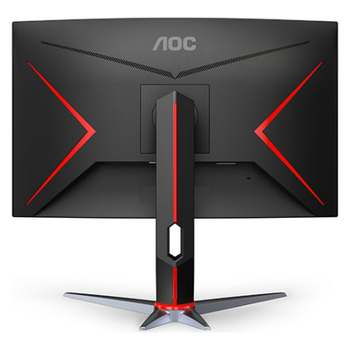 "Product image of AOC C27G2X 27"" Full HD FreeSync Curved 165Hz 1MS VA LED Gaming Monitor - Click for product page of AOC C27G2X 27"" Full HD FreeSync Curved 165Hz 1MS VA LED Gaming Monitor"