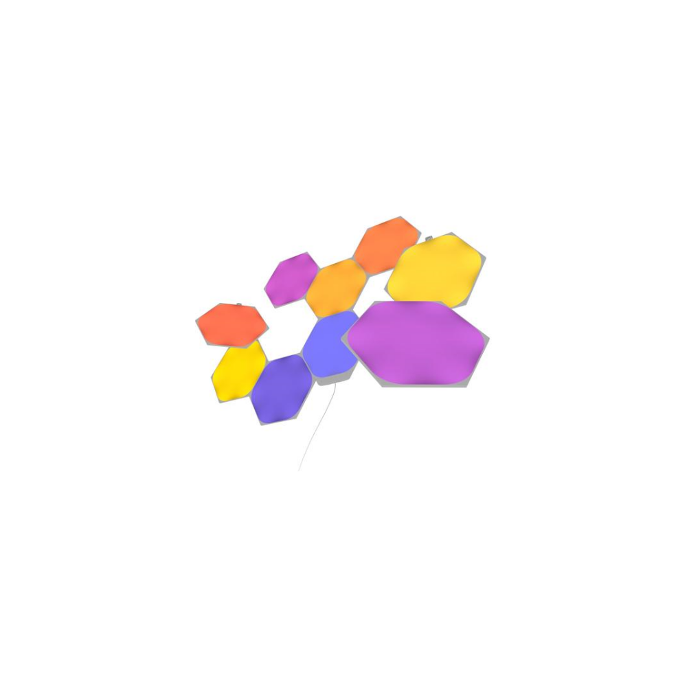 A large main feature product image of NANOLEAF Shapes Hexagon Starter Kit - 9 Pack