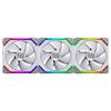 A product image of Lian-Li UNI Fan 120mm Cooling Fan White - Triple Pack