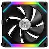 A product image of Lian-Li UNI Fan 120mm Cooling Fan Black - Single Pack