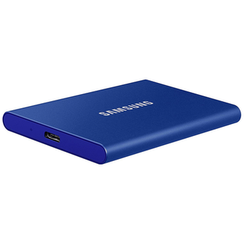 Product image of Samsung T7 Touch 1TB USB3.2 Blue Portable SSD - Click for product page of Samsung T7 Touch 1TB USB3.2 Blue Portable SSD