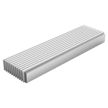 Product image of ORICO Aluminium NVMe M.2 SSD Enclosure - Silver - Click for product page of ORICO Aluminium NVMe M.2 SSD Enclosure - Silver