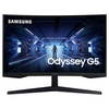 """A product image of Samsung Odyssey G5 27"""" WQHD Curved 144Hz 1MS HDR VA LED Gaming Monitor"""