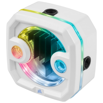 Product image of Corsair Hydro X Series XD3 RGB White Pump/Reservoir Combo - Click for product page of Corsair Hydro X Series XD3 RGB White Pump/Reservoir Combo