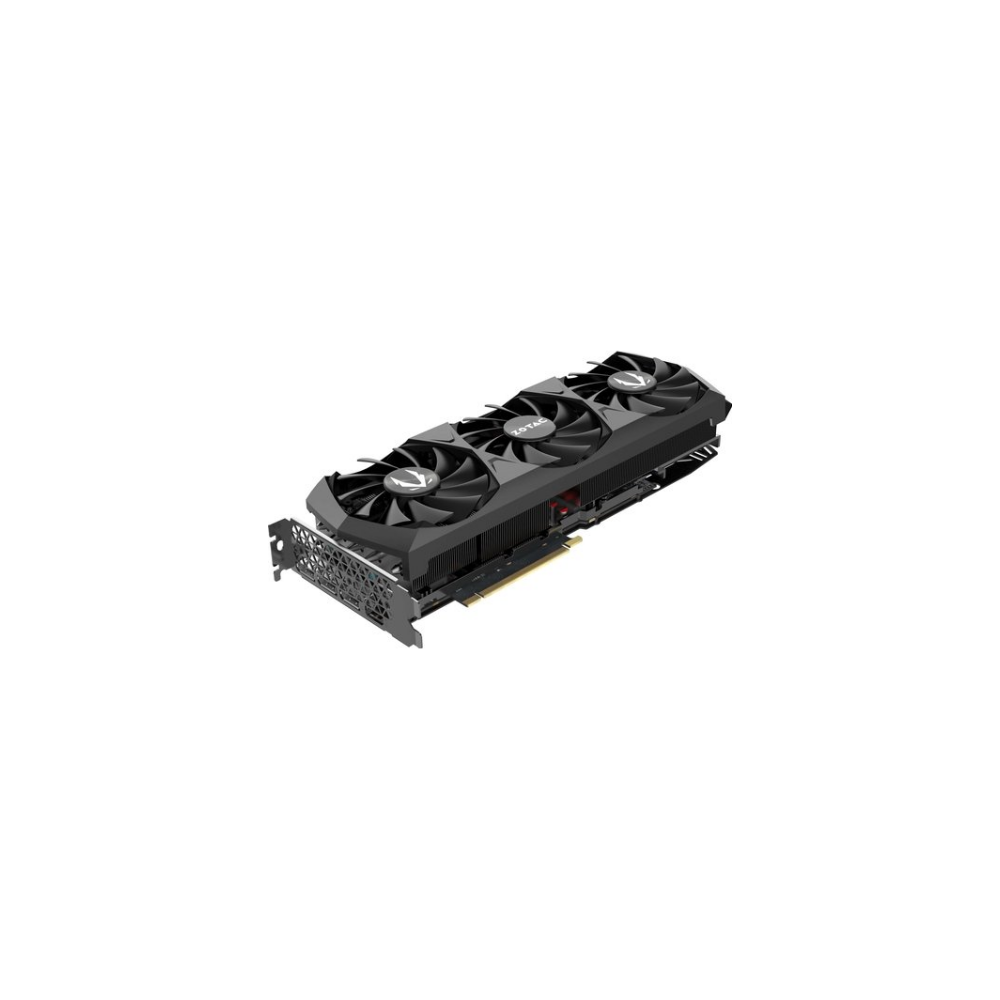 A large main feature product image of ZOTAC GAMING GeForce RTX 3080 Trinity OC 10GB GDDR6X