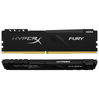 Product image of Kingston 32GB Kit (2x16GB) DDR4 HyperX Fury Black C16 2666MHz - Click for product page of Kingston 32GB Kit (2x16GB) DDR4 HyperX Fury Black C16 2666MHz