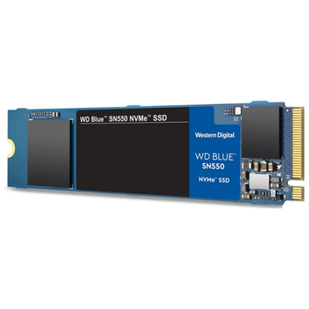 Product image of WD Blue SN550 500GB NVMe M.2 SSD - Click for product page of WD Blue SN550 500GB NVMe M.2 SSD