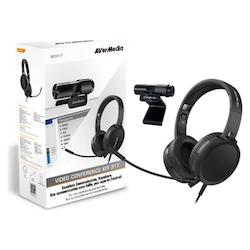 Product image of AVerMedia BO317 Webcam & Headset Kit - Click for product page of AVerMedia BO317 Webcam & Headset Kit