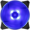 A product image of Cooler Master MasterFan Lite MF120L 120mm Blue LED Fan