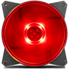 A product image of Cooler Master MasterFan Lite MF120L 120mm Red LED Fan
