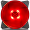 A small tile product image of Cooler Master MasterFan Lite MF120L 120mm Red LED Fan