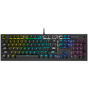 Product image of Corsair Gaming K60 RGB PRO Low Profile Mechanical Keyboard (MX Speed Switch) - Click for product page of Corsair Gaming K60 RGB PRO Low Profile Mechanical Keyboard (MX Speed Switch)