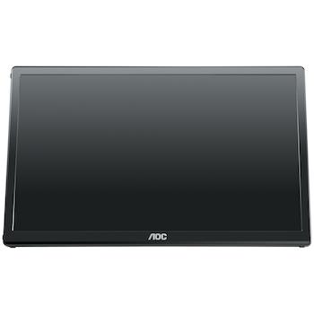 """Product image of EX-DEMO AOC E1659FWU 15.6"""" WXGA USB3.0 LED Monitor - Click for product page of EX-DEMO AOC E1659FWU 15.6"""" WXGA USB3.0 LED Monitor"""